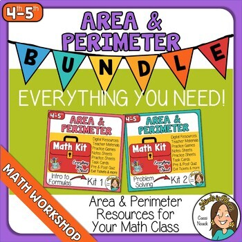 Area and Perimeter BUNDLE Image