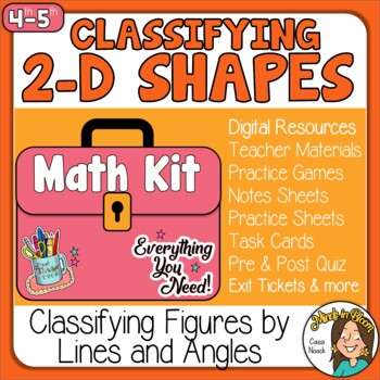 Classifying 2D Shapes Image
