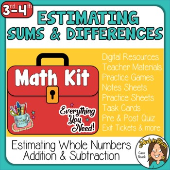 Estimating Sums & Differences Image