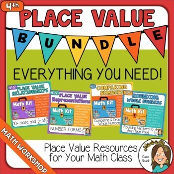 Place Value BUNDLE Image