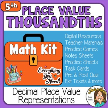 Place Value to the Thousandths Image