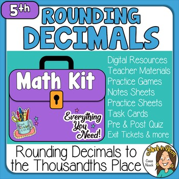 Rounding Decimals to the Hundredths Place Image