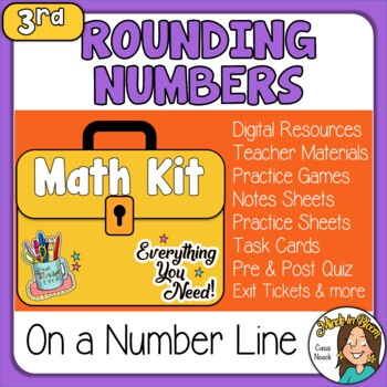 Rounding Numbers with Number Lines Image