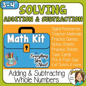 Solving Addition and Subtraction  Image