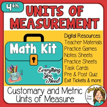Units of Measurment (Customary & Metric) Image