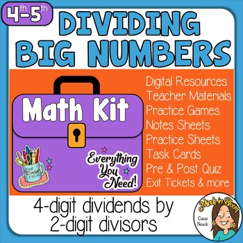 4-digit by 2-digit Long Division  Image