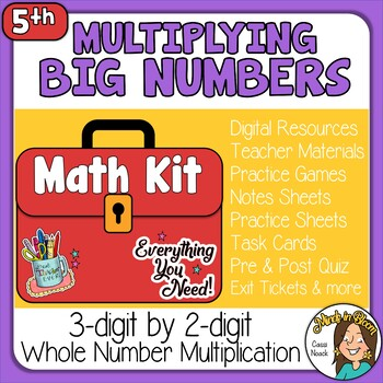 3-digit by 2-digit Multiplication Image