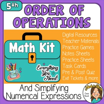 Order of Operations & Numeric Expressions Image